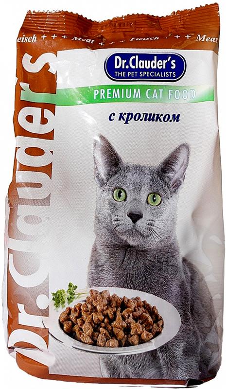 """Корм сухой """"Dr. Clauder's"""" для кошек, кролик, 15 кг"""