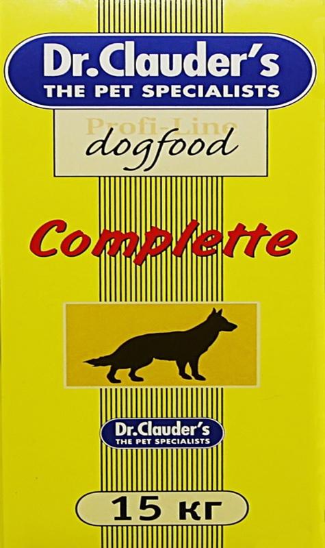 Корм сухой Dr. Clauder's Сomplete для собак, 15 кг нестеров а вредные привычки собак воспитание без стресса