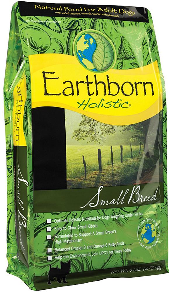 Корм сухой Earthborn Holistic  Суперпремиум. Small Breed  для собак мелких пород, 12,7 кг - Корма и лакомства