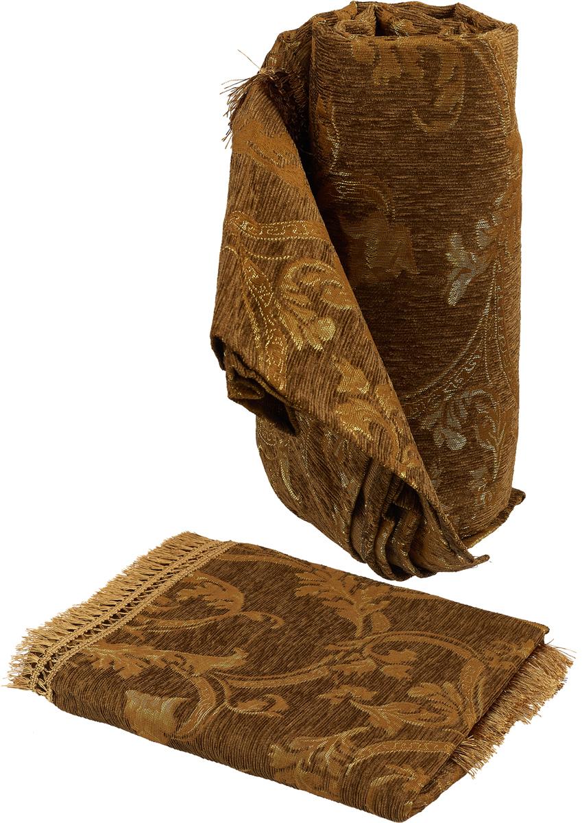 Набор чехлов для дивана и кресел МарТекс Баунти, 3 предмета. 05-0619-305-0619-3Гобеленовые полотна для покрывал изготавливаются из качественного хлопка, с добавлением полиэстера. Ткань очень плотная, прочная, отлично сохраняет форму и в то же время мягкая и приятная на ощупь. Пестрый рисунок достигается путем переплетения нитей разных цветов, а не путем окрашивания готового полотна. Состав гобелена для повышения износостойких качеств производители добавляют до 50% полиэстера. Достоинства: - экологичность. Преобладание натуральных волокон в составе гобеленового полотна позволяет обеспечить покрывалу хорошую воздухопроницаемость, гигроскопичность и достойные гигиенические свойства.- простота ухода. Покрывало не требует частых стирок, не боится солнечного света, не выцветает и не линяет; - не требует подкладки и уплотнителя. Ткань сама по себе достаточно жесткая, хорошо держит форму и помогает сгладить неровности; - износостойкость. Долговечность обеспечивает особая техника плетения нитей, а добавление синтетических волокон помогает увеличить срок службы изделия. Покрывала из гобелена благодаря своей пестроте материал сам по себе не нуждается в частой стирке. Состав: 50%хлопок, 50% полиэстер,Уход: стирка 30градусов в деликатном режиме, глажка в режиме хлопка.