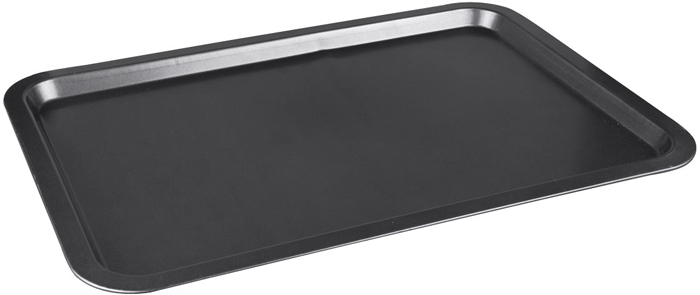 Противень для выпечки Miolla, с антипригарным покрытием, цвет: черный, 43,2 x 29,1 x 1,85 см противень 290х200х25 мм discovery 916200