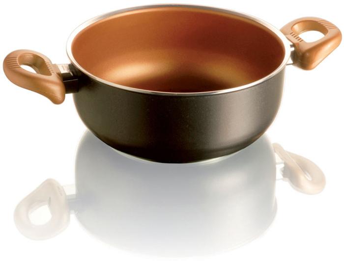 Кастрюля Frabosk Gloria, цвет: золотой, 20 см диск frabosk д индукционных плит 12см нерж сталь
