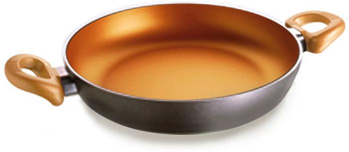 Серия Gloria - сковорода, отвечающая требованиям самого взыскательного покупателя. Подходит для всех видов плит, кроме индукционных. Можно использовать в посудомоечной машине. Не рекомендуется использование металлических аксессуаров. Рекомендуется использование деревянных, пластиковых, силиконовых аксессуаров. Диаметр, указанный на упаковке, соответствует верхнему краю сковороды. Яркое решение цвета покрытия создает позитивное настроение, вдохновляет на воплощение самых оригинальных идей в процессе приготовления блюд!