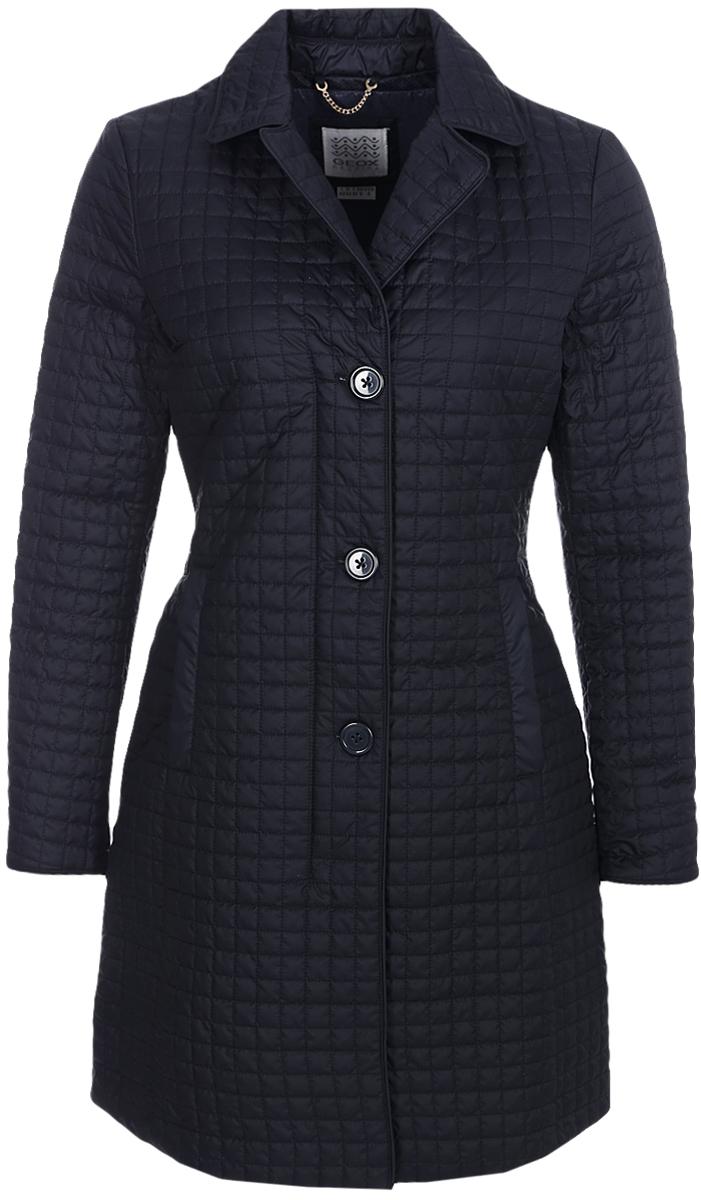 Купить Куртка женская Geox, цвет: темно-синий. W8220UT2414F4386. Размер 42 (44)