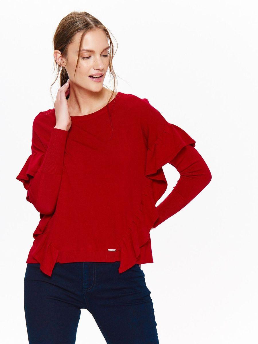 Свитер женский Top Secret, цвет: красный. SSW2303CE. Размер 42 (50) свитер quelle top secret 1018928