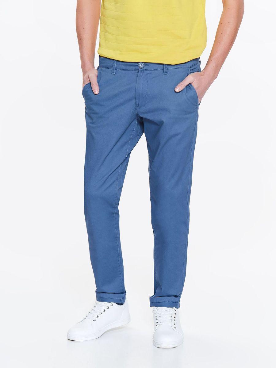 Фото Брюки мужские Top Secret, цвет: синий. SSP2774NI. Размер 36 (52)