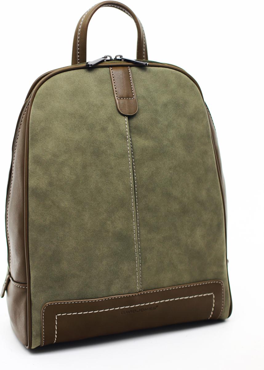 Рюкзак женский David Jones, цвет: оливковый. СМ3556D/KHAKI сумка david jones david jones da919bwtnl50