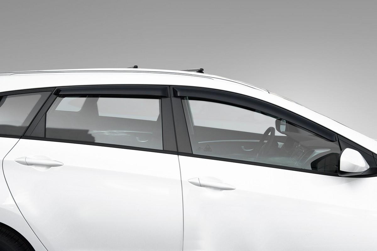 Купить Дефлекторы Rival для окон Hyundai i30 универсал 2011-2017, акрил, 4 шт. 32302004