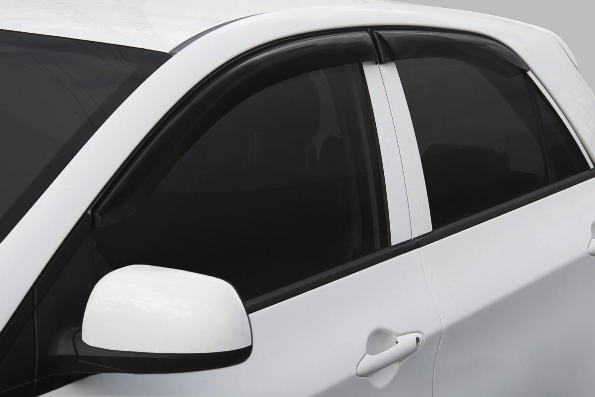Купить Дефлекторы Rival для окон Kia Picanto хэтчбек 5-дв. 2017-, акрил, 4 шт. 32808001