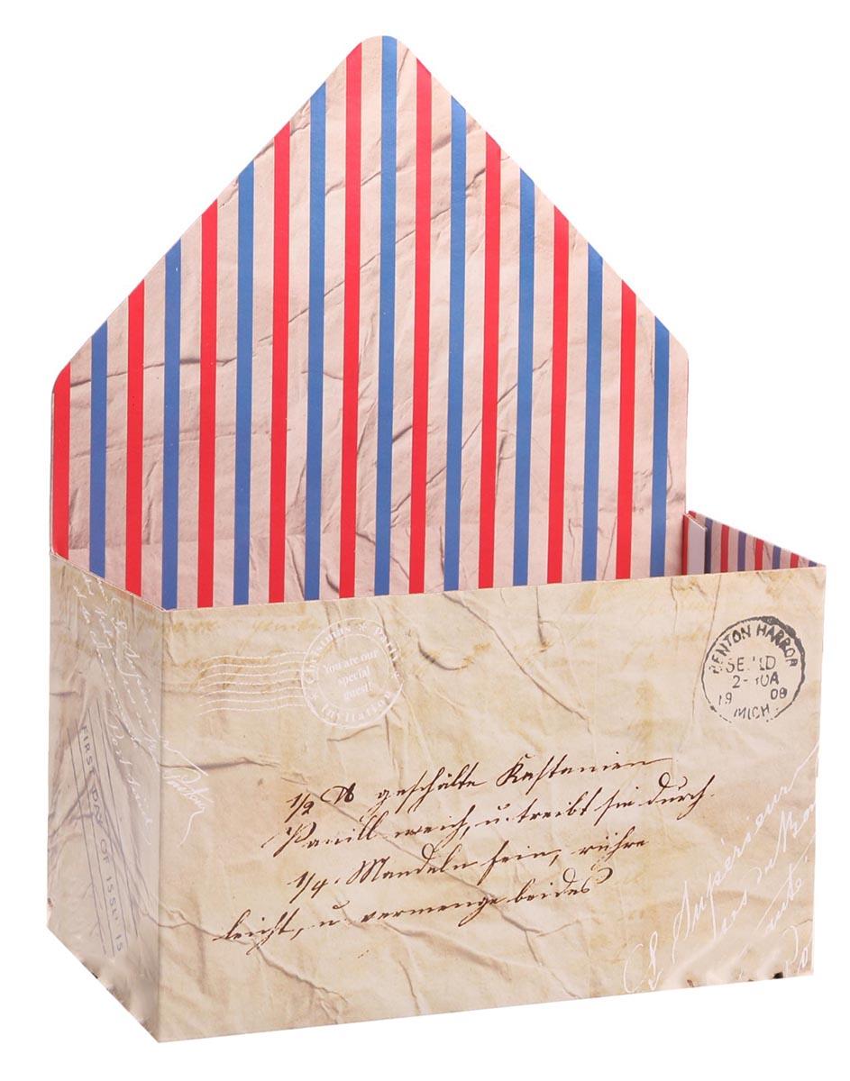 Коробка-письмо Почта, микрогофра с кашировкой, 25 х 33 х 10 см2881343Любой подарок начинается с упаковки. Что может быть трогательнее и волшебнее, чем ритуал разворачивания полученного презента. И именно оригинальная, со вкусом выбранная упаковка выделит ваш подарок из массы других. Она продемонстрирует самые теплые чувства к виновнику торжества и создаст сказочную атмосферу праздника. Коробка-письмо— это то, что вы искали.