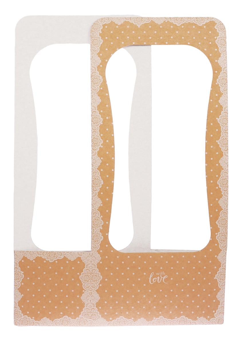 Сумочка для цветов Дарите Счастье Кружевная салфетка, 23 х 45 х 13 см3006451Любой подарок начинается с упаковки. Что может быть трогательнее и волшебнее, чем ритуал разворачивания полученного презента. И именно оригинальная, со вкусом выбранная упаковка выделит ваш подарок из массы других. Она продемонстрирует самые теплые чувства к виновнику торжества и создаст сказочную атмосферу праздника. Сумочка для цветов— это то, что вы искали.