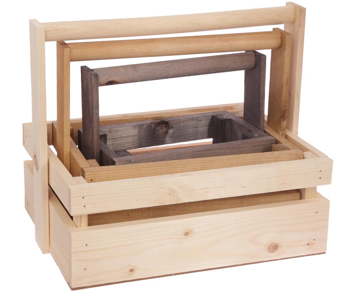 Набор деревянных ящиков Дарите Счастье 3 в 1, реечный, с шильдиком и ручкой, малый, цвет: темно-серый3334618Каждому хозяину периодически приходит мысль обновить свою квартиру, сделать ремонт, перестановку или кардинально поменять внешний вид каждой комнаты. Набор деревянных ящиков— привлекательная деталь, которая поможет воплотить вашу интерьерную идею, создать неповторимую атмосферу в вашем доме. Окружите себя приятными мелочами, пусть они радуют глаз и дарят гармонию.