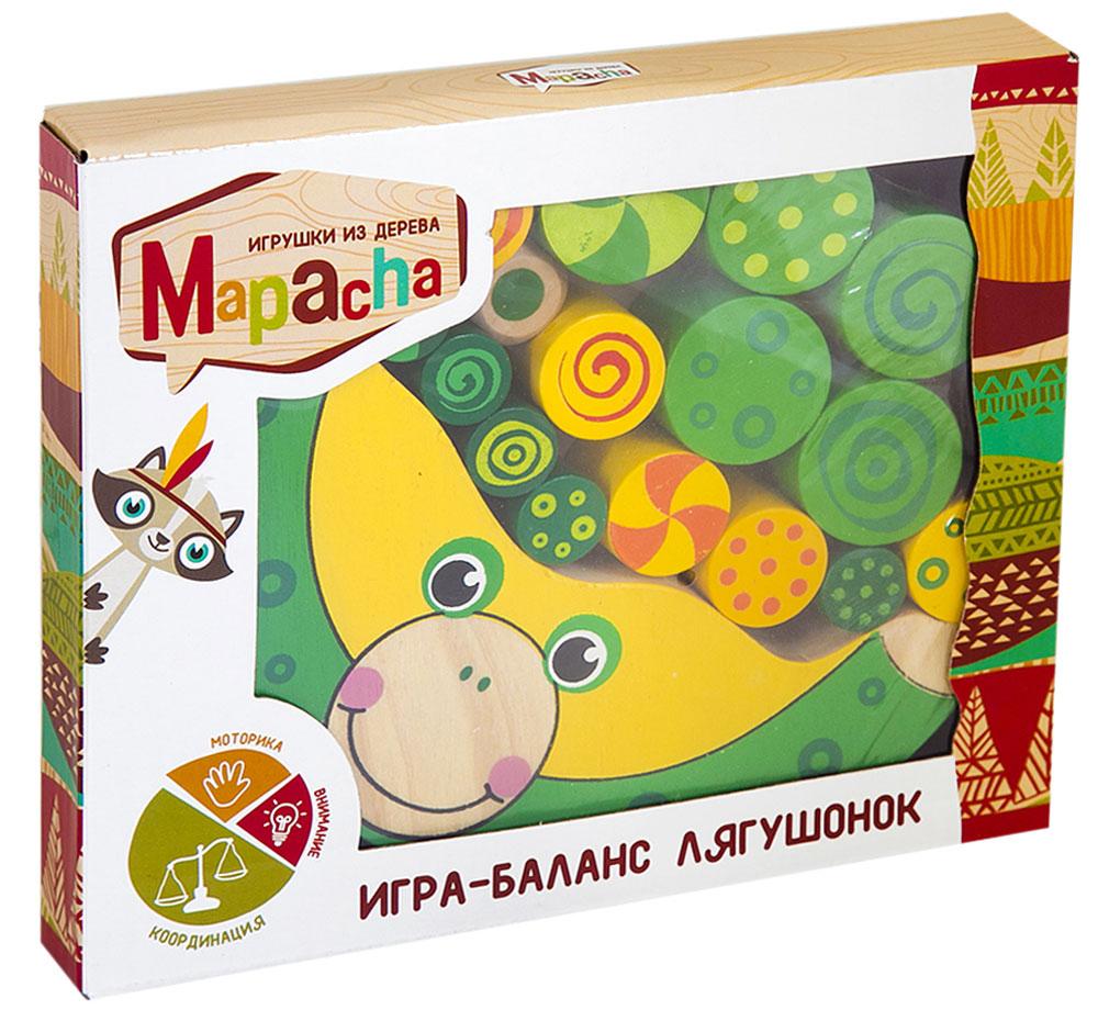 Mapacha Обучающая игра Баланс Лягушонок mapacha обучающая игра весы клоун