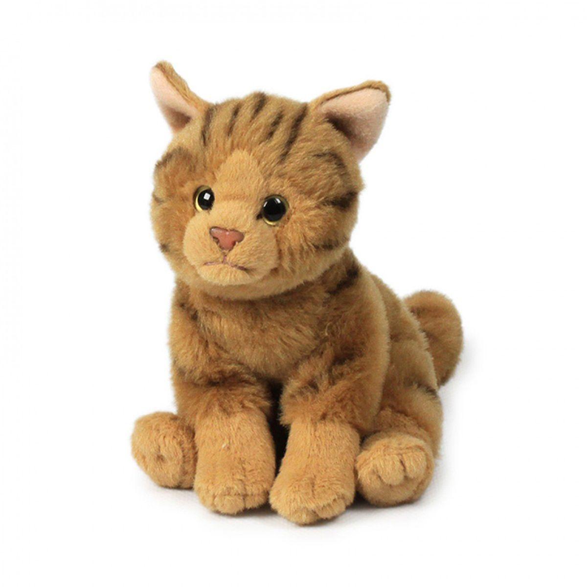 Anna Club Plush Кошка бенгальская, сидит 15 см anna club plush мягкая игрушка бассет хаунд 18 см