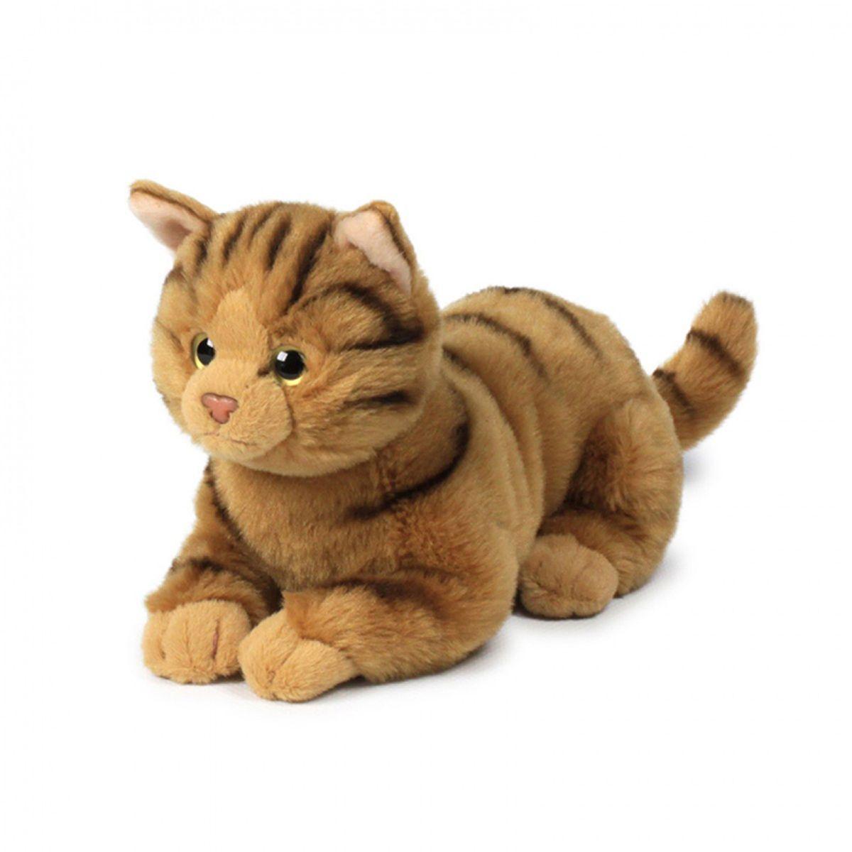 Anna Club Plush Кошка бенгальская, лежит 20 см anna club plush мягкая игрушка бассет хаунд 18 см