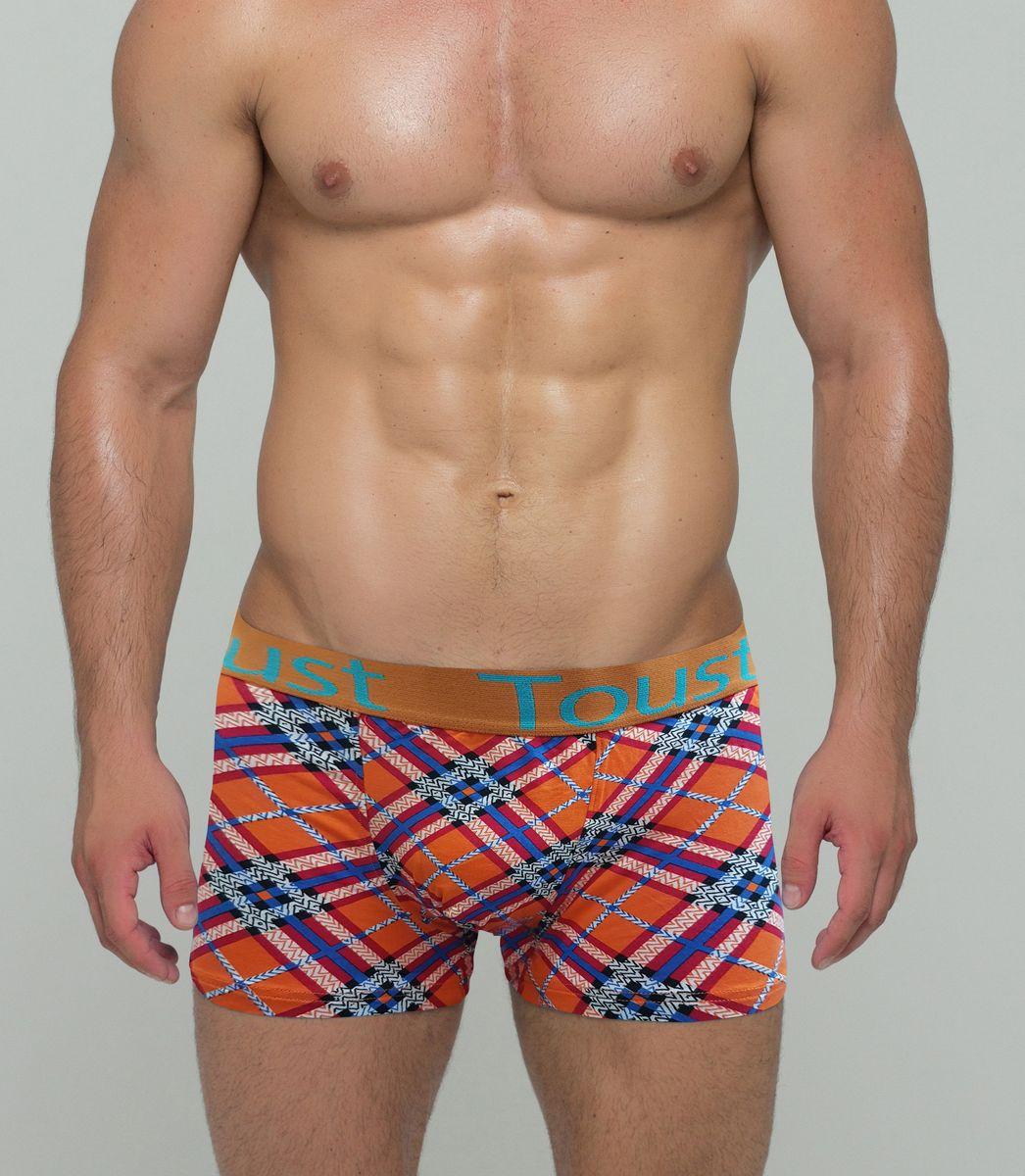 Купить Трусы-боксеры мужские Toust, цвет: красный, оранжевый. T8003A. Размер XL (48)