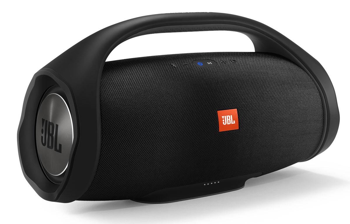 JBL Boombox, Black портативная акустическая система protective case for jbl boombox portable wireless bluetooth speaker storage pouch bag for jbl boombox travel carrying eva case