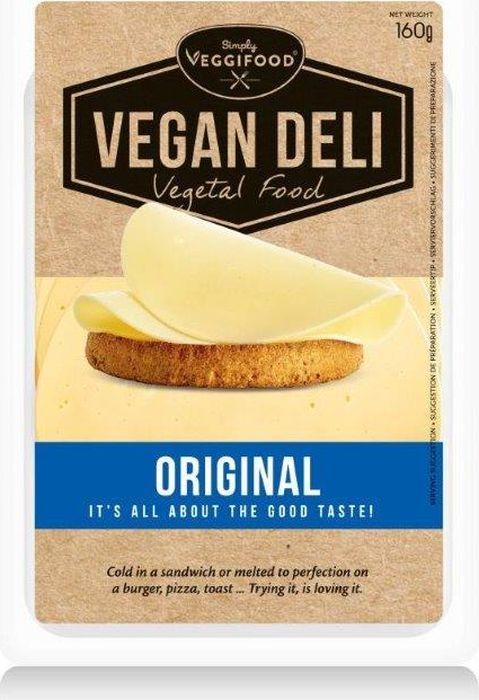 FitFood Vegan Deli Нарезка веганская Original со вкусом сыра, 160 г кукуруза coruma со вкусом двойного сыра 50г