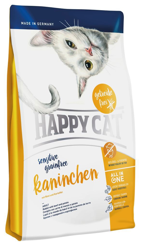 Happy Cat La Cuisine Кролик , говядина с картофелем и морковью, без глютена, 4 кг la cuisine сковорода la cuisine гриль 29 26см зеленая 7150