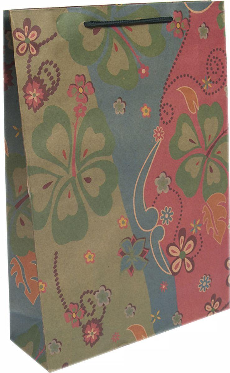 Пакет бумажный Magic Home Пламя цветов, 19 х 24 см43742Бумажный пакет для сувенирной продукции Пламя цветов - это стильный и практичный вариант упаковки подарка. Авторский дизайн, красочное изображение, тематический рисунок - все слагаемые оригинального оформления подарка. Окружите близких людей вниманием и заботой, вручив презент в нарядном, праздничном оформлении. Пакет изготовлен из крафт-бумаги. Для удобства переноски имеются две веревочные ручки. Дно и верхний край укреплены картоном. Красивый подарочный пакет придаст дополнительный запоминающийся эффект от подарка или покупки.