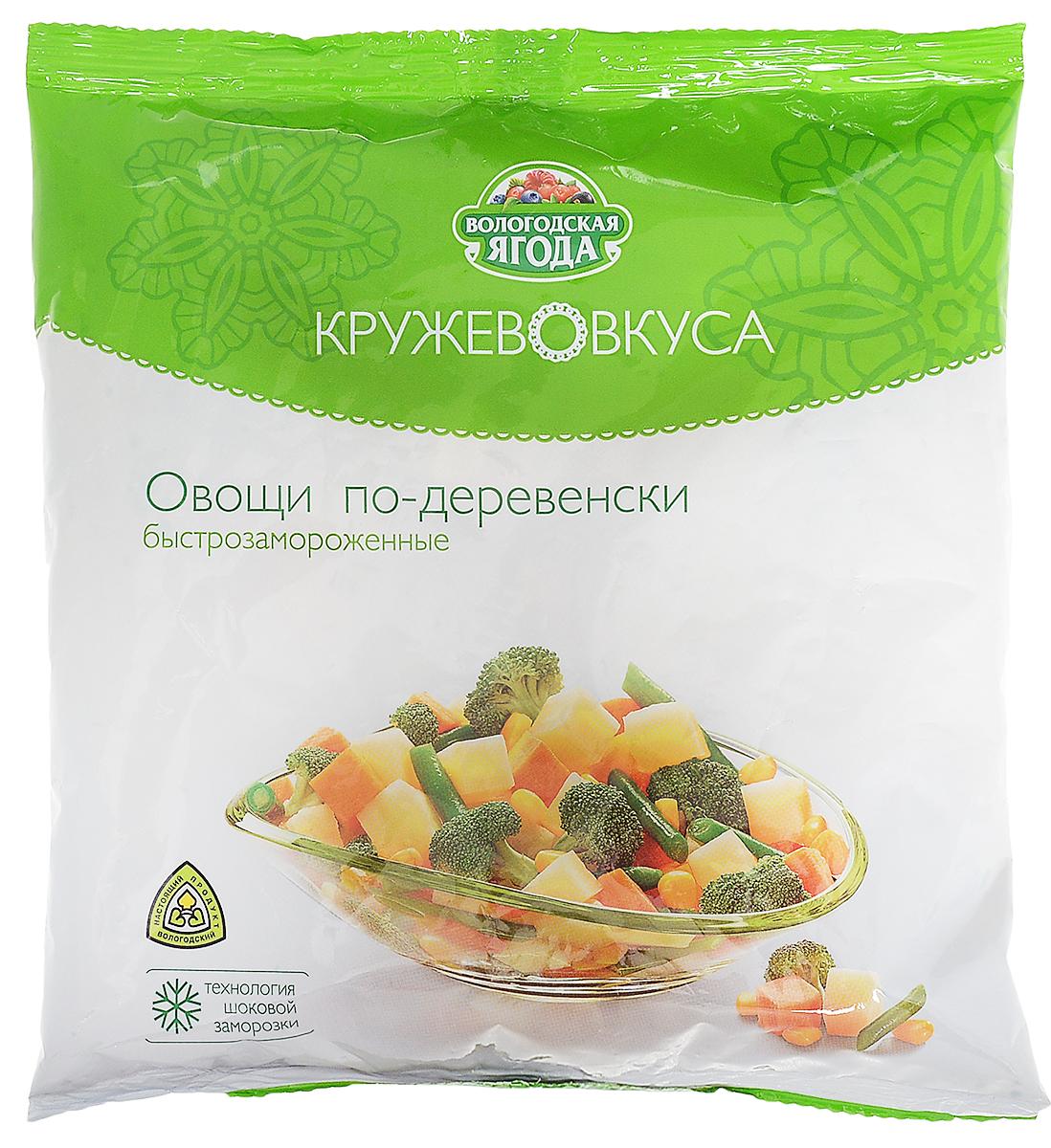 Кружево Вкуса Смесь Овощи по-деревенски, 400 г кружево вкуса щавелевый суп 400 г