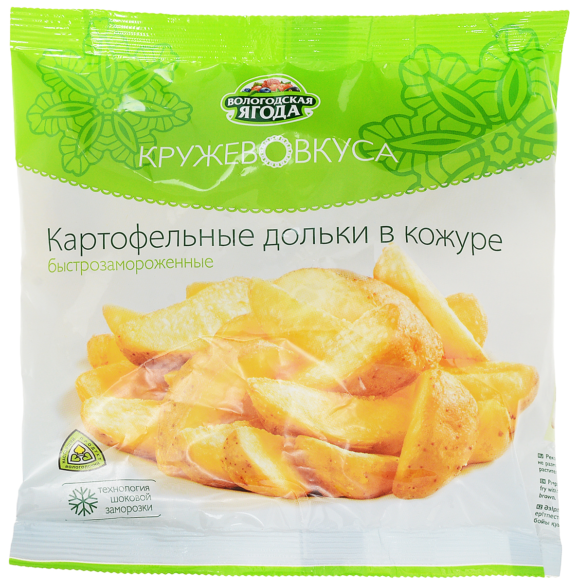 Кружево Вкуса Картофельные дольки, 400 г кружево вкуса щавелевый суп 400 г
