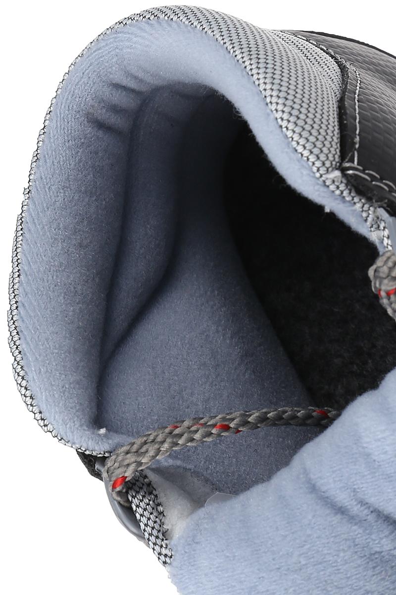 Ботинки лыжные Marax, цвет:  серый, черный.  М350.  Размер 35 Marax
