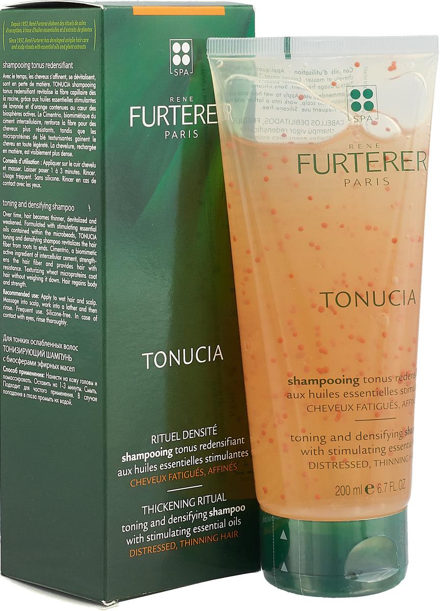 Rene Furterer Шампунь Tonucia для волос, тонизирующий, для тонких и ослабленных волос, 200 мл