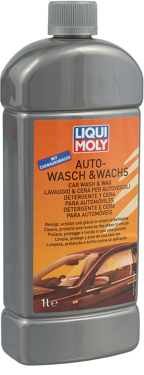 "Автошампунь Liqui Moly ""Auto-Wasch & Wachs"", 1 л"
