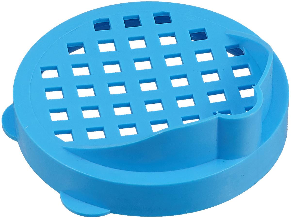 Крышка для слива банок Альтернатива, цвет: голубой