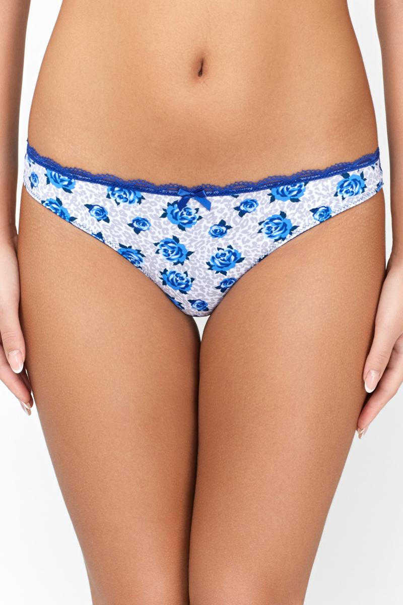Трусы-стринги женские Infinity Lingerie Berty, цвет: синий. 31204120659_9000. Размер S (44)