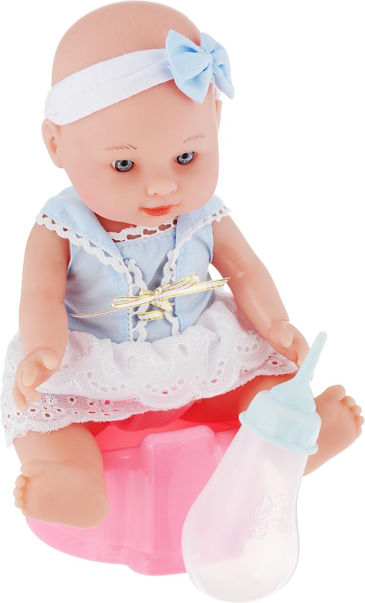 Фото - Mary Poppins Пупс Пью и писаю цвет одежды голубой белый 451130 платье luann цвет белый голубой