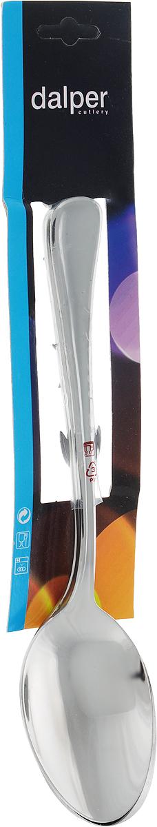 Набор столовых ложек Dalper Нобл, 3 предмета86001Набор столовых ложек Dalper состоит из 3-х столовых ложек, выполненных из высококачественной нержавеющей стали.При взаимодействии с пищевыми продуктами нержавеющая сталь не образует соединений, вредных для организма человека. Посуда из нержавеющей стали наиболее востребована, так как помимо высоких эксплуатационных характеристик отличается привлекательным дизайном. Набор столовых ложек займет достойное место среди аксессуаров на вашей кухне.