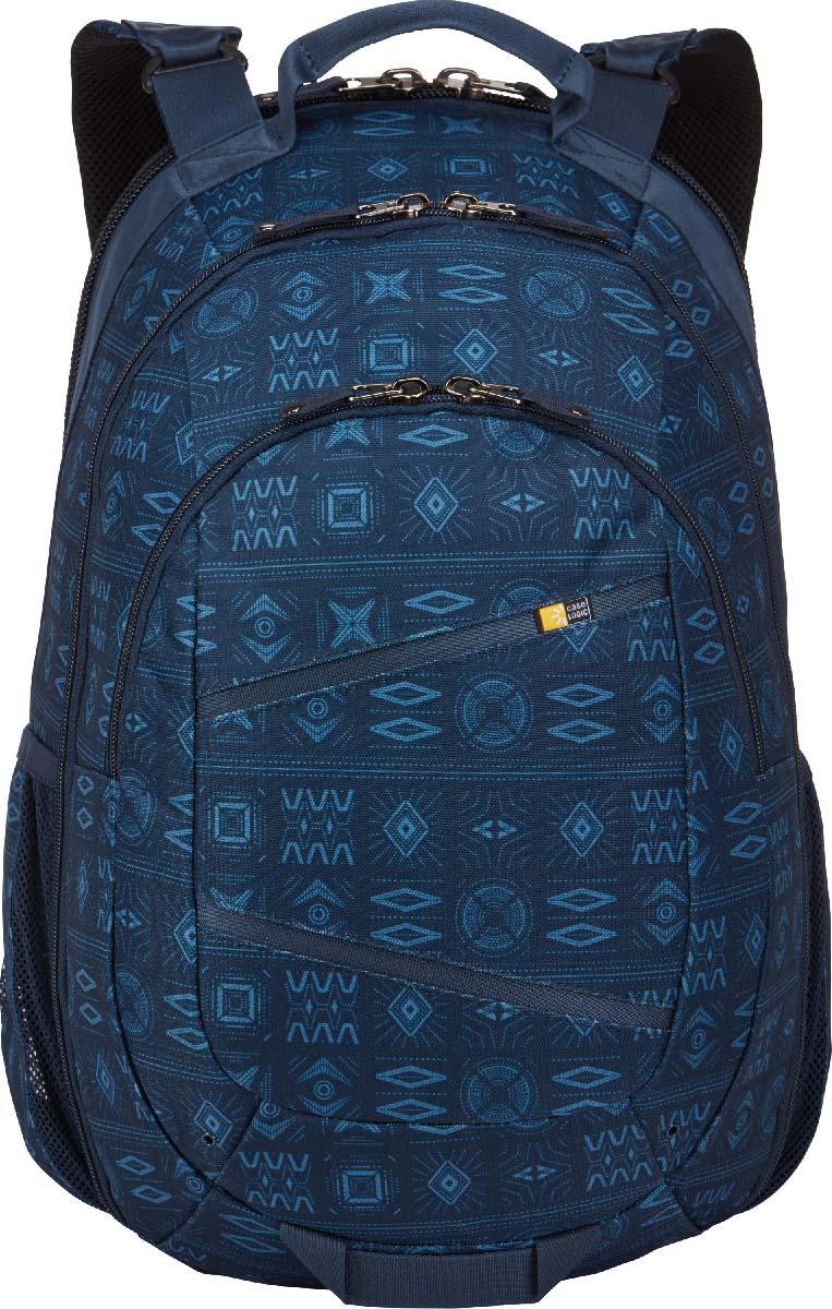 Case Logic Berkeley II Blue, рюкзак для ноутбука 15,6BPCA-315 NATIVEBLUEПросторный многофункциональный рюкзак, выполненный в ярких красках, обеспечит Вас всеми необходимыми в течение дня вещами и не оставит без внимания окружающих.Специальное отделение для ноутбука 15,6 и отдельный карман для планшета; Потайной карман на задней панели для безопасного хранения денег и документов; Асимметричная панель-органайзер с просторным футляром обеспечит сохранность электронного оборудования разного размера, школьные или офисные принадлежности; Открытие основного отделения по типу чемодана обеспечивает максимальный обзор при сборах и легкий доступ к вещам; Регулируемые наплечные ремни эргономичной формы; Крупные молнии обеспечивают легкий доступ и достаточно широки для того, чтобы повесить на них дополнительный замок; Съемный настраиваемый нагрудный ремень обеспечивает дополнительную поддержку при перевозке тяжелых предметов; Сетчатые боковые карманы предназначены для бутылок с водой; Прочная наружная ткань сохранит вещи от любых погодных катаклизмов; Яркий, стильный дизайн обеспечит Вам внимание окружающих.