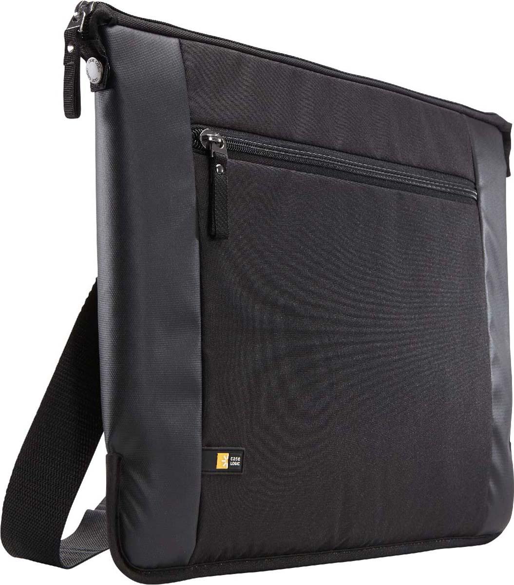 Case Logic Intrata Slim Black, сумка для ноутбука 15,6