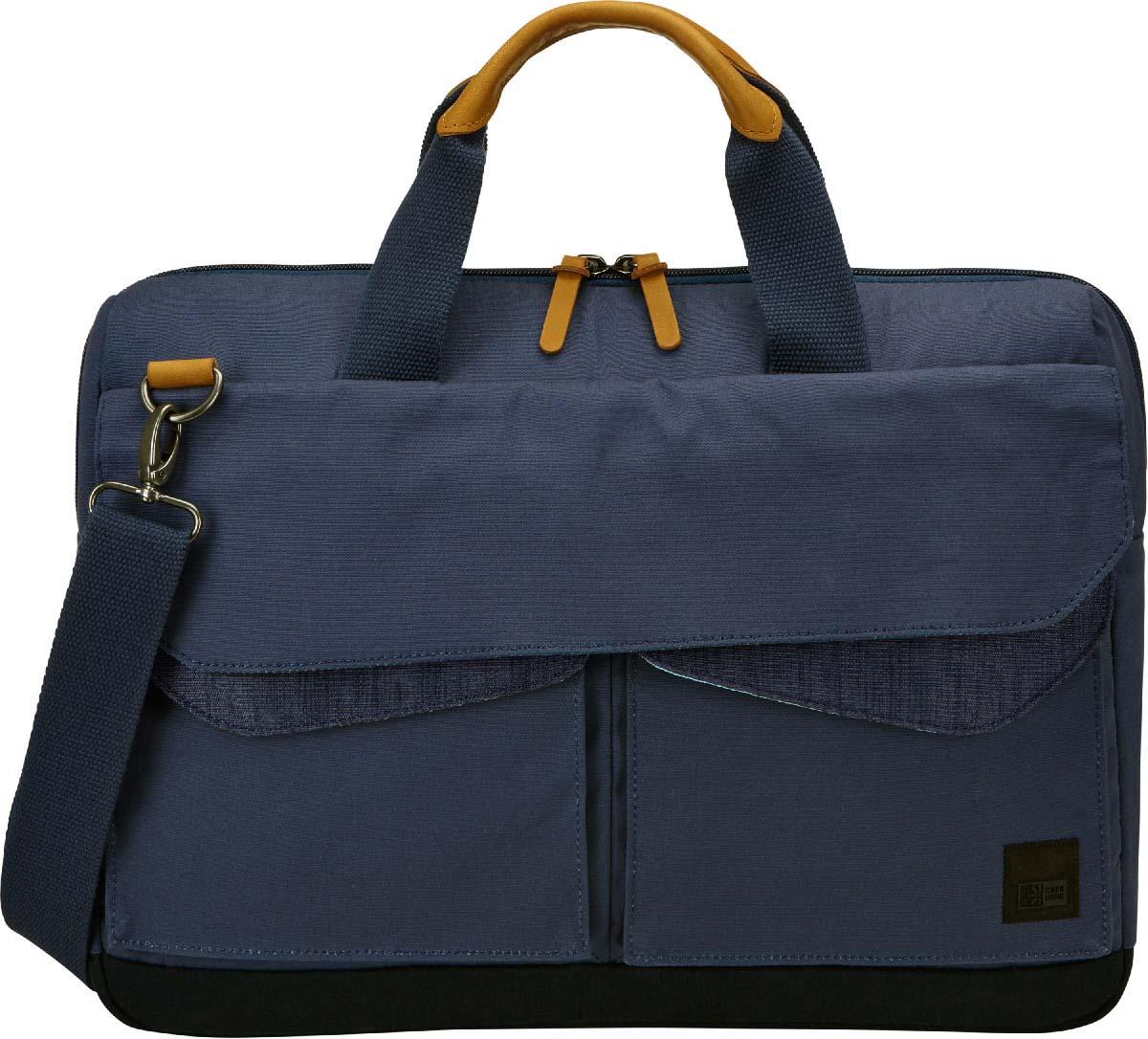 "Case Logic LoDo Attache Blue, сумка для ноутбука 15,6"""