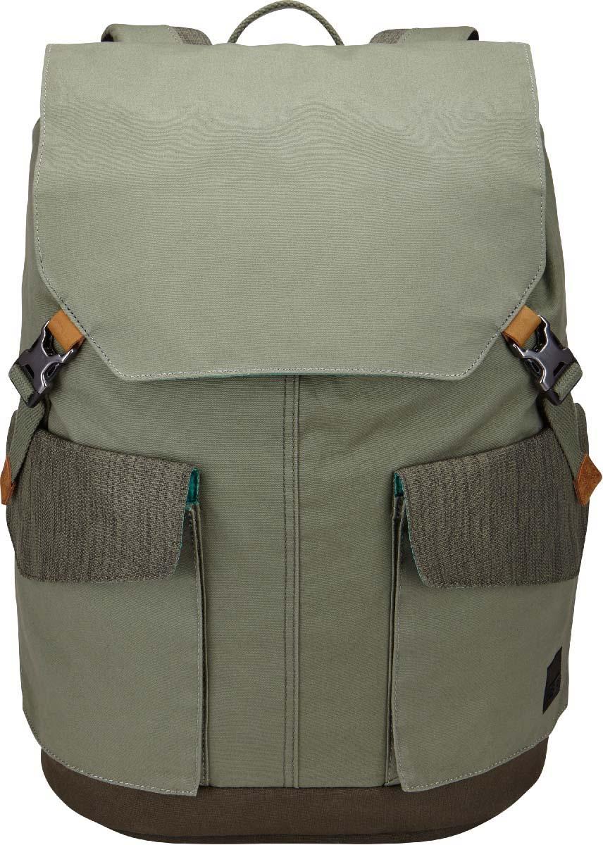 Case Logic LoDo Large Backpack Green, рюкзак для ноутбука 15,6