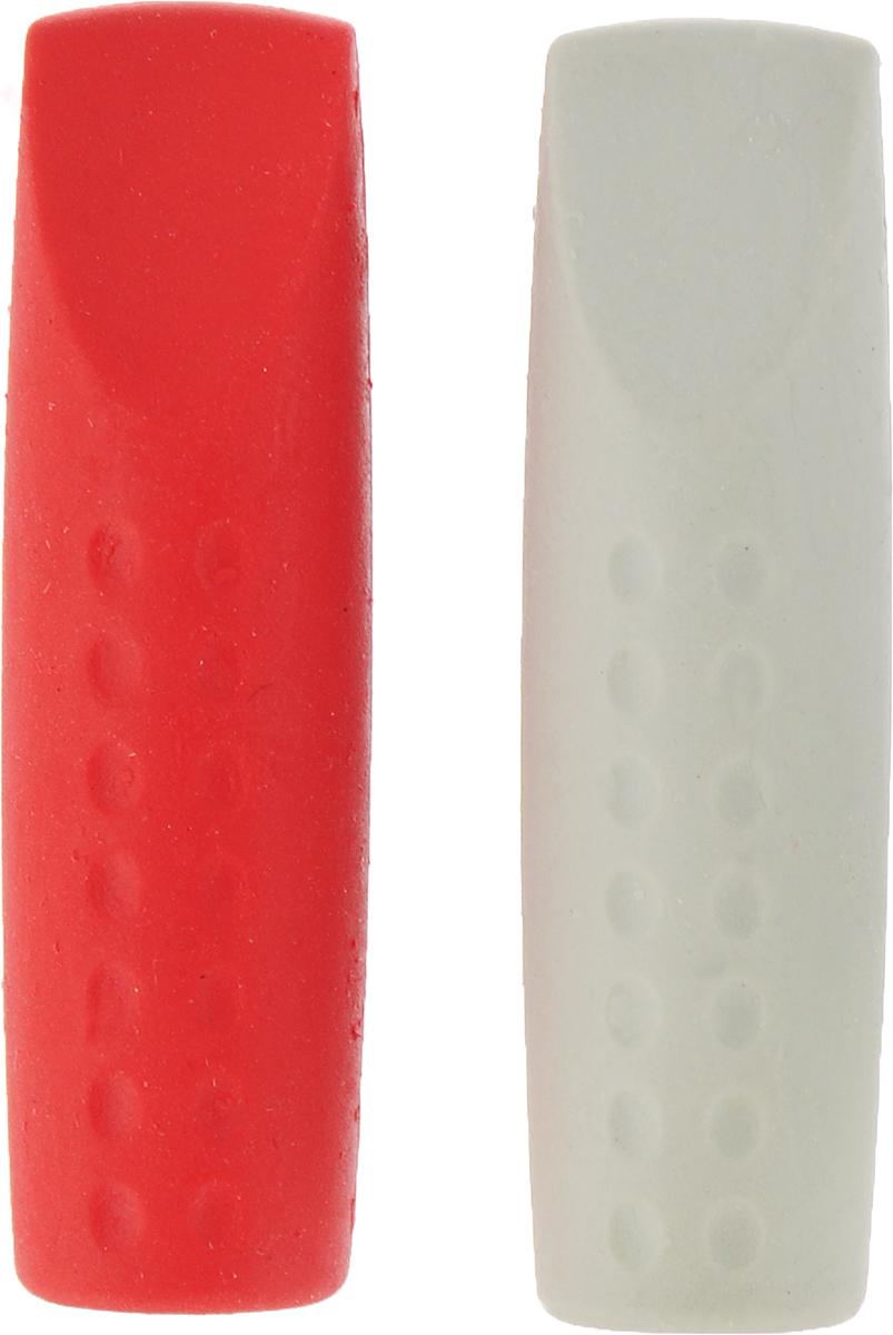Faber-Castell Ластик-колпачок Grip 2001 цвет синий красный 2 шт платье fleuretta цвет синий красный