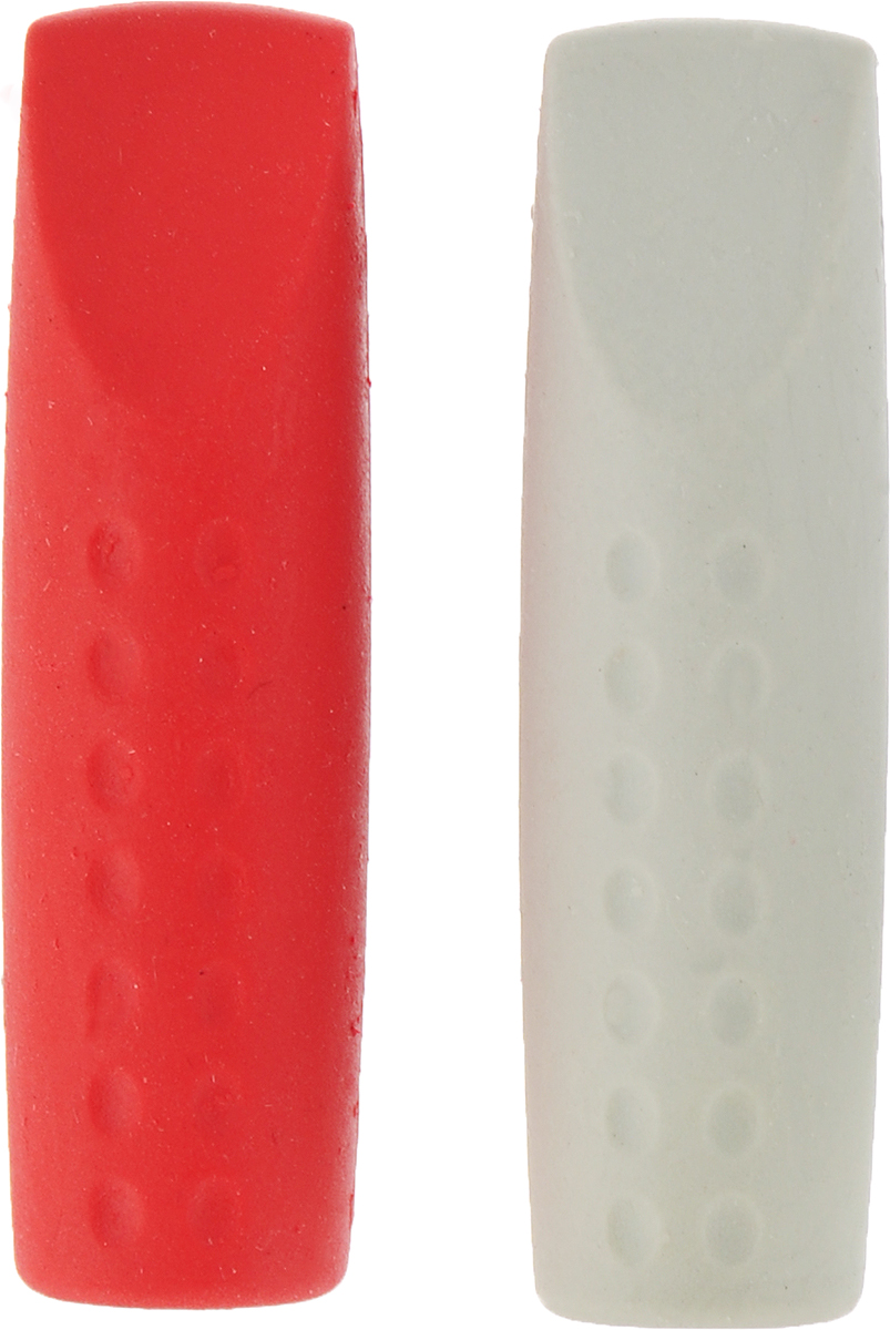 Faber-Castell Ластик-колпачок Grip 2001 цвет синий красный 2 шт faber castell ручки шариковые grip x 3 шт