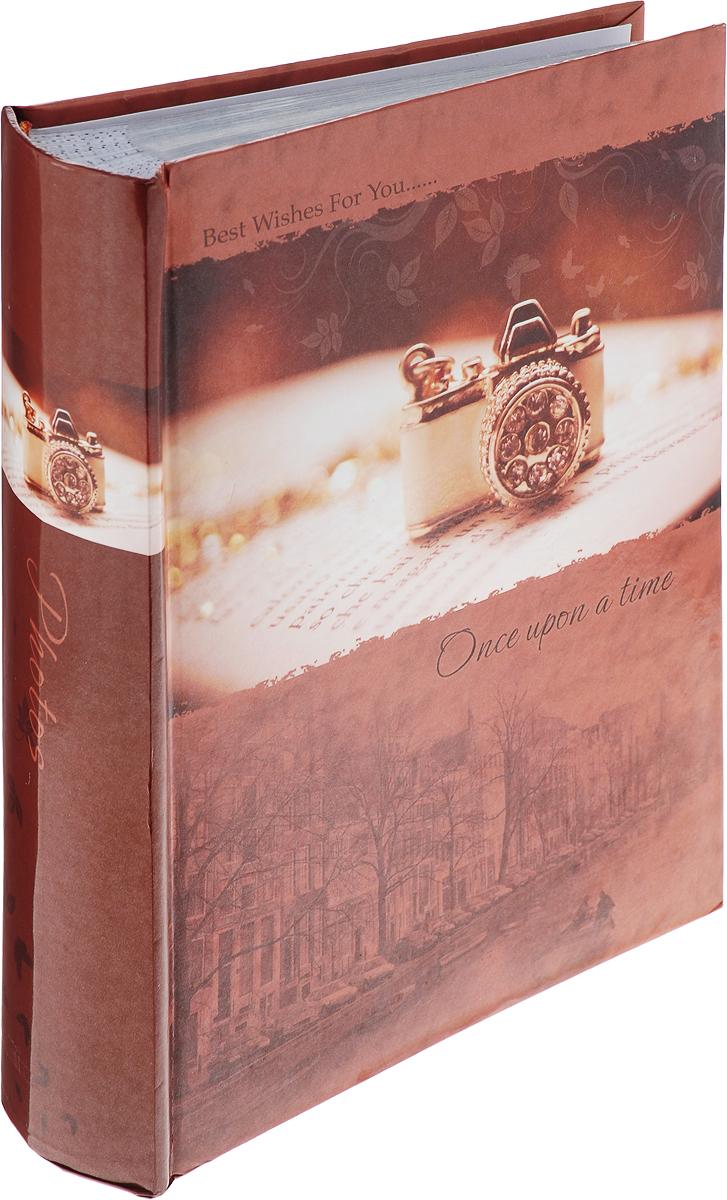 Фотоальбом Platinum Классика, 240 фотографий, цвет: коричневый, 10 x 15 см фотоальбом 6171