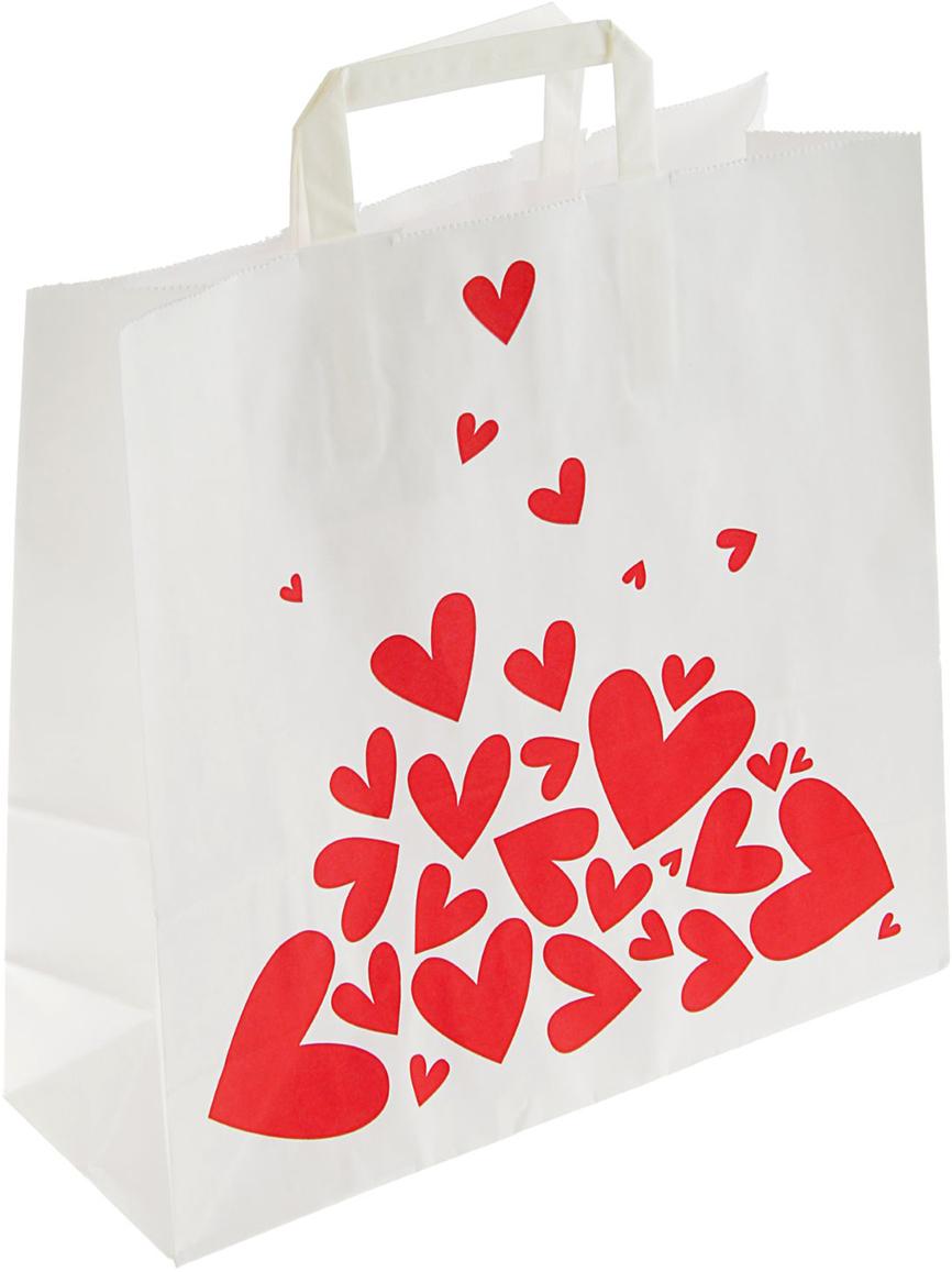 Пакет подарочный Валентинка, цвет: красный, 32 х 32 х 12 см. 20738002073800Любой подарок начинается с упаковки. Что может быть трогательнее и волшебнее, чем ритуал разворачивания полученного презента. И именно оригинальная, со вкусом выбранная упаковка выделит ваш подарок из массы других. Она продемонстрирует самые теплые чувства к виновнику торжества и создаст сказочную атмосферу праздника - это то, что вы искали.