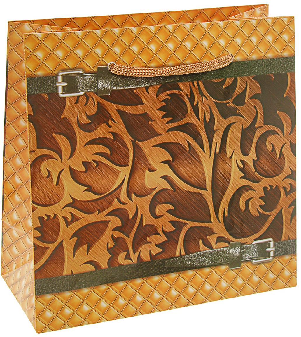 Пакет подарочный Витраж, цвет: мультиколор, 16 x 7,6 х 16 см. 27930362793036Любой подарок начинается с упаковки. Что может быть трогательнее и волшебнее, чем ритуал разворачивания полученного презента. И именно оригинальная, со вкусом выбранная упаковка выделит ваш подарок из массы других. Она продемонстрирует самые теплые чувства к виновнику торжества и создаст сказочную атмосферу праздника. Пакет подарочный Витраж - это то, что вы искали.