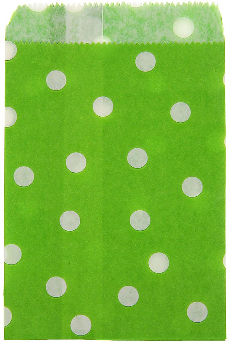 Пакет подарочный Горох, цвет: зеленый, 10 х 15 см. 13988191398819Любой подарок начинается с упаковки. Что может быть трогательнее и волшебнее, чем ритуал разворачивания полученного презента. И именно оригинальная, со вкусом выбранная упаковка выделит ваш подарок из массы других. Она продемонстрирует самые теплые чувства к виновнику торжества и создаст сказочную атмосферу праздника. Пакет фасовочный Горох - это то, что вы искали.