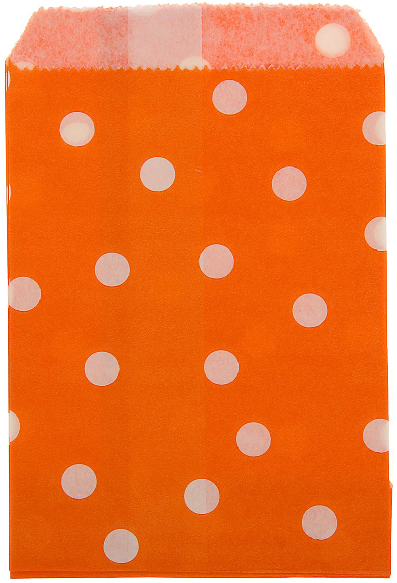 Пакет подарочный Горох, цвет: оранжевый, 10 х 15 см. 13988221398822Любой подарок начинается с упаковки. Что может быть трогательнее и волшебнее, чем ритуал разворачивания полученного презента. И именно оригинальная, со вкусом выбранная упаковка выделит ваш подарок из массы других. Она продемонстрирует самые теплые чувства к виновнику торжества и создаст сказочную атмосферу праздника. Пакет фасовочный Горох - это то, что вы искали.
