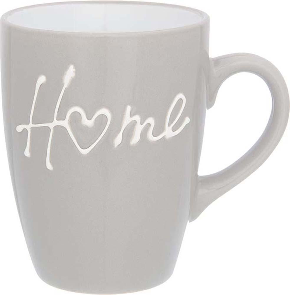 Кружка Elan Gallery Дом, цвет: серый, 330 мл130011Кружка классической формы объемом 330 мл с удобной ручкой. Подходят для любых горячих и холодных напитков, чая, кофе, какао. Изделие имеет подарочную упаковку, поэтому станет желанным подарком для ваших близких!