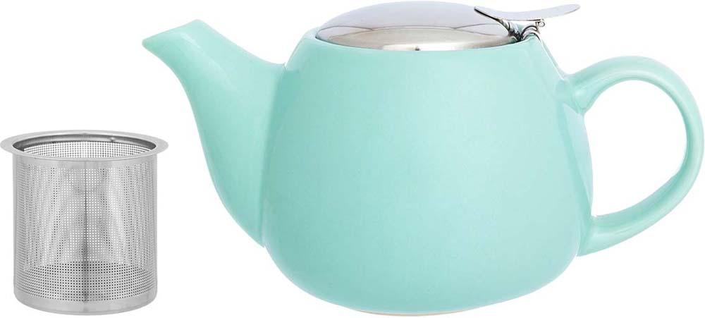 """Необычный заварочный чайник """"Elan Gallery""""украсит сервировку стола к чаепитию. Благодаря красивому дизайну и качеству исполнения он станет хорошим подарком друзьям и близким, а металлическое сито не позволит чаинкам попасть в ваш напиток."""