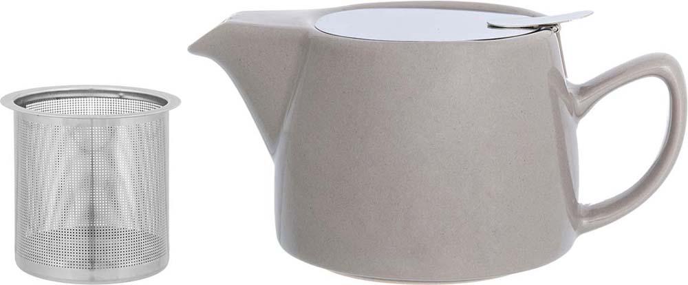 """Необычный заварочный чайник """"Elan Gallery"""" украсит сервировку стола к чаепитию. Благодаря красивому дизайну и качеству исполнения он станет хорошим подарком друзьям и близким, а металлическое сито не позволит чаинкам попасть в ваш напиток."""
