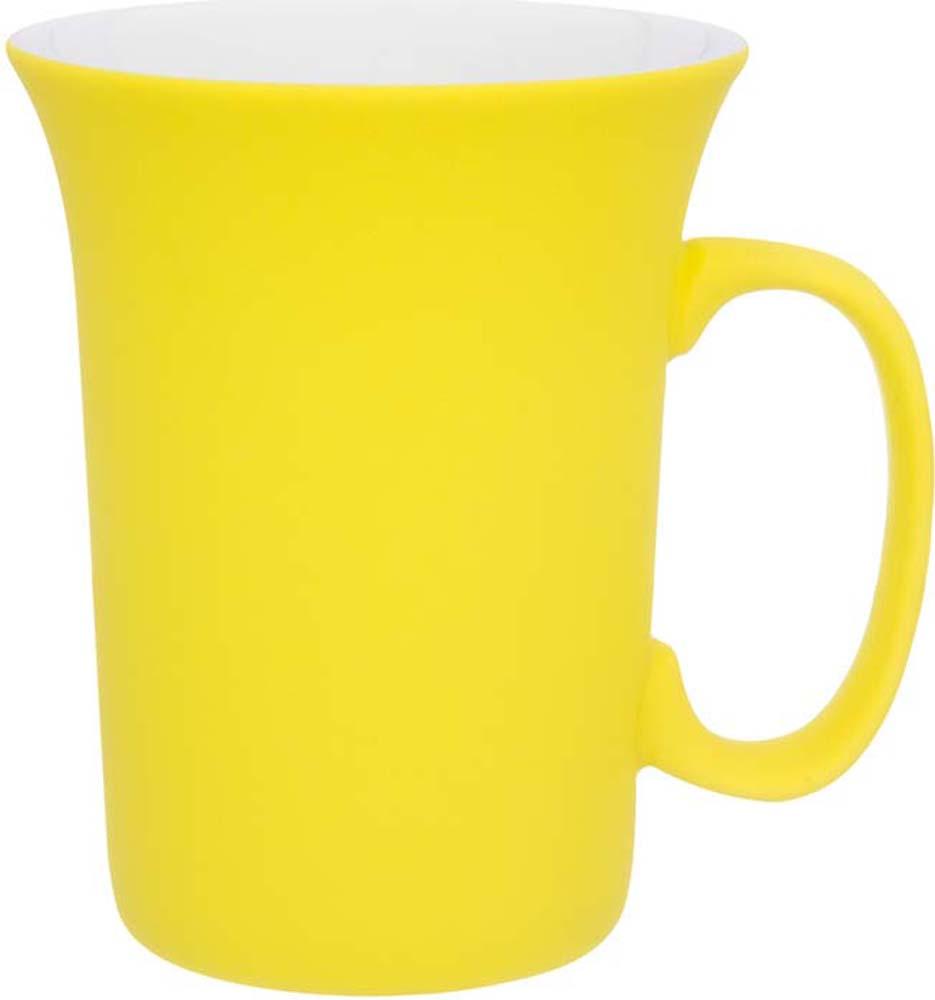 Кружка Elan Gallery Лимонная, с силиконовым покрытием, 300 мл504197Оригинальная кружка подойдет для чая, кофе и других напитков. Удобна в использовании благодаря устойчивой форме. Изделие имеет подарочную упаковку.