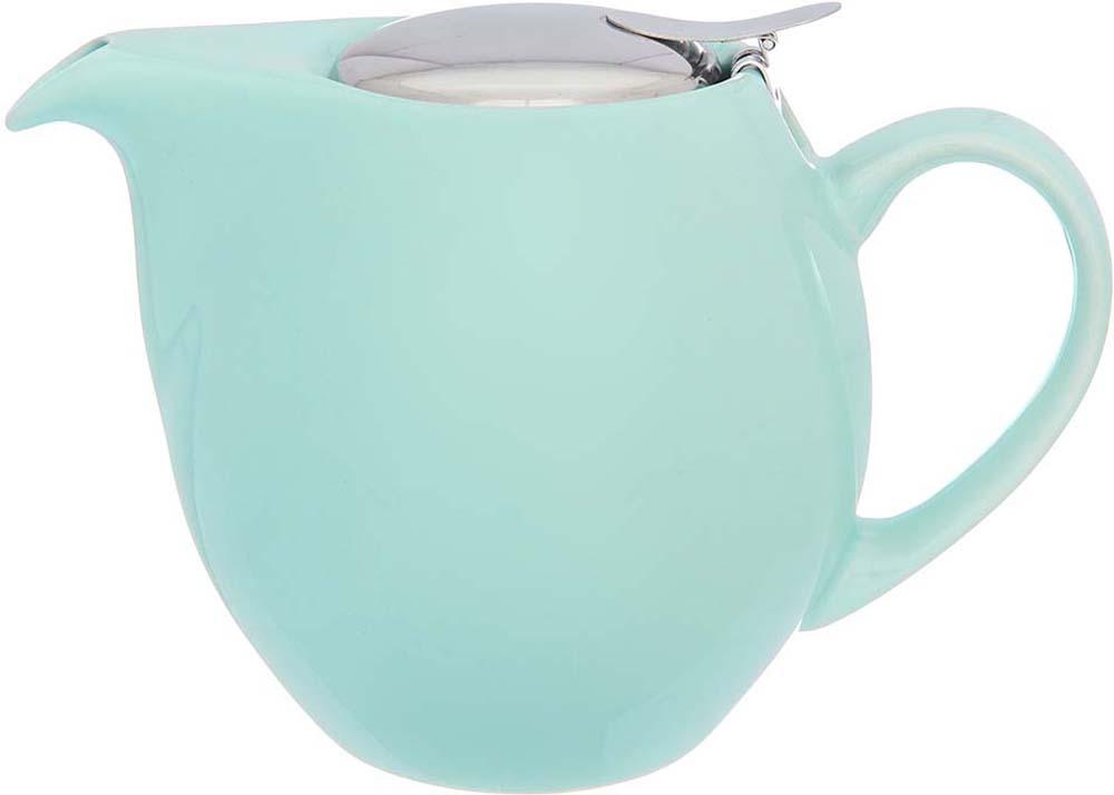 Чайник заварочный Elan Gallery, с ситом, цвет: мятный, 900 мл630030Изящный вместительный чайник объемом 900 мл с удобной ручкой и широким носиком. Изделие имеет подарочную упаковку.