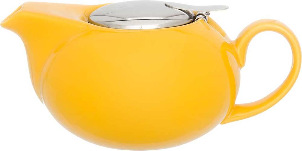 """Изящный вместительный чайник """"Elan Gallery"""" с металлическим ситом, удобной ручкой и широким  носиком, выполнен из высококачественного фарфора. В основании носика сделаны  фильтрующие отверстия от попадания чаинок в чашку.  Эта модель станет замечательной находкой для себя или презентом родным.  Изделие имеет подарочную упаковку."""